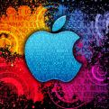Apple Logo Colorful Worlds