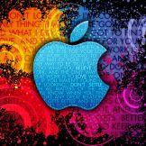 Apple Logo Colorful Worlds