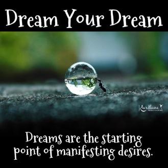 Dream. Dream Big.