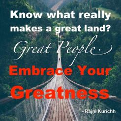 Great people, great land.