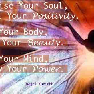 Mind Body Soul.