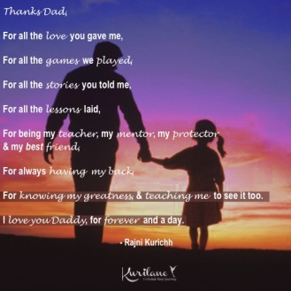 Love You Daddy.