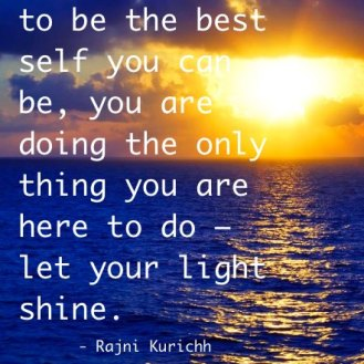Let Your Light Shine.