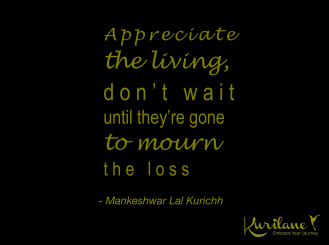 Appreciate Life