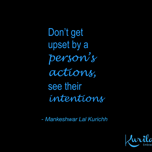Intention Is Supreme