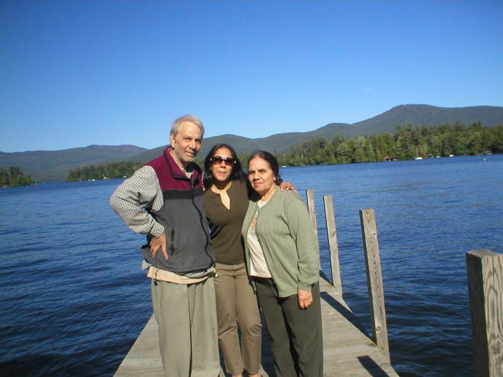 Me, Mom & Dad at Lake George, NY