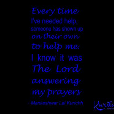 Prayers Answered