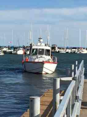 Coast Guard Rescue Boat