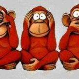Speak No Evil Monkeys