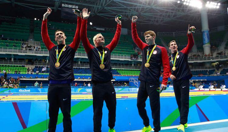 Men's 4x200m Relay Rio 2016