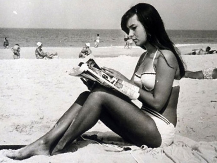 Heloísa Pinheiro in 1964 - the inspiration for The Girl From Ipanema.