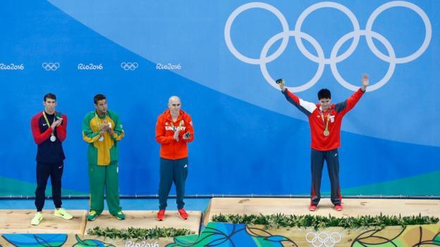 Joseph Schooling won 100m butterfly