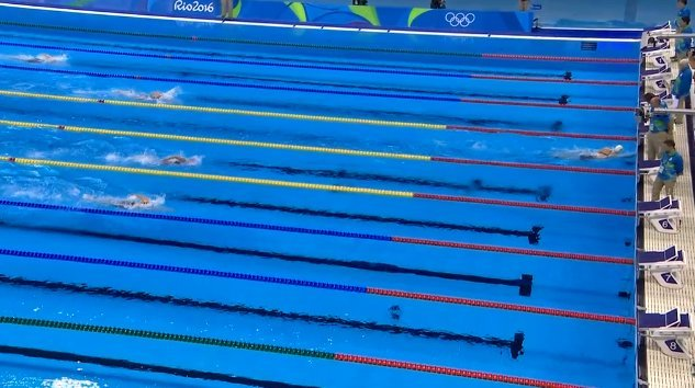 Katie Ledecky 800m Gold World Record