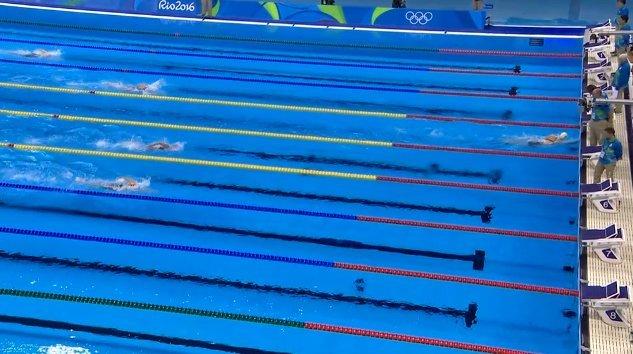 Katie Ledecky 800m Gold World Record