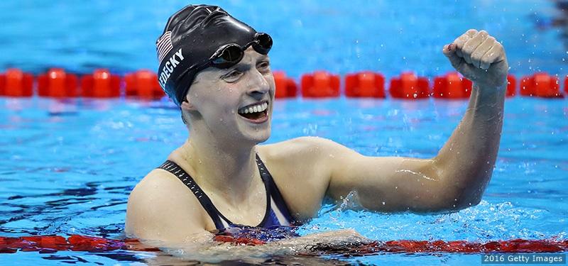 Katie Ledecky Rio 2016