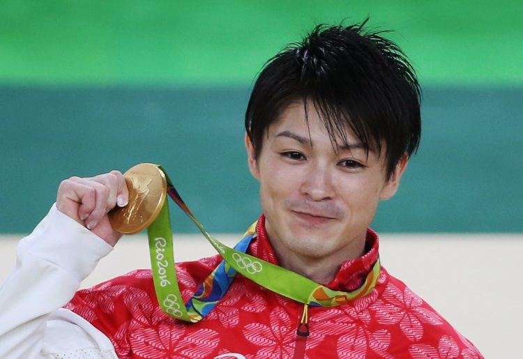 Kohei Uchimura Rio 2016