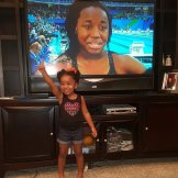 """Two-year old Layla McKenzie, inspired by Simone Manuel, says """"I Got Next!"""""""