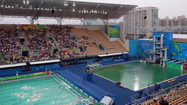 Maria Lenk Green Pool
