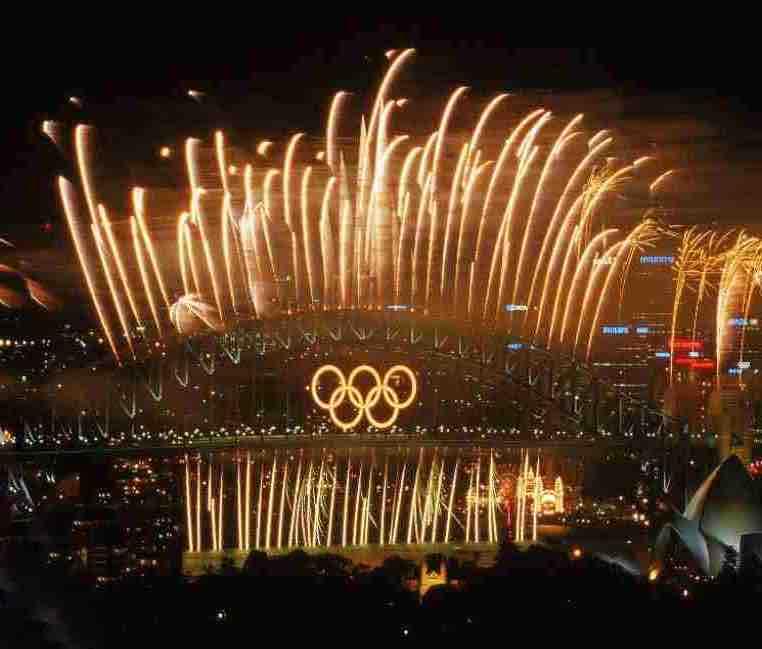 Olympics Rings Rio Closing Ceremony