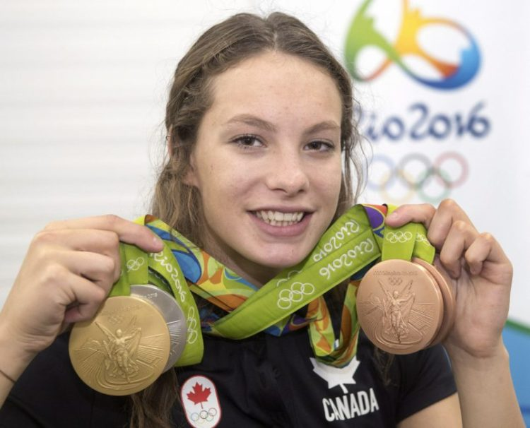 Penny Oleksiak Takes Home 4 Medals