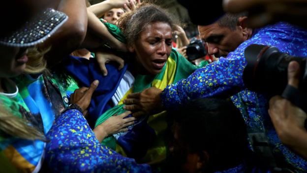 Rafaela Silva won Brazil's 1st gold in Judo