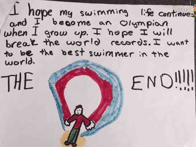 Ryan Murphy Swimming Life Age 8