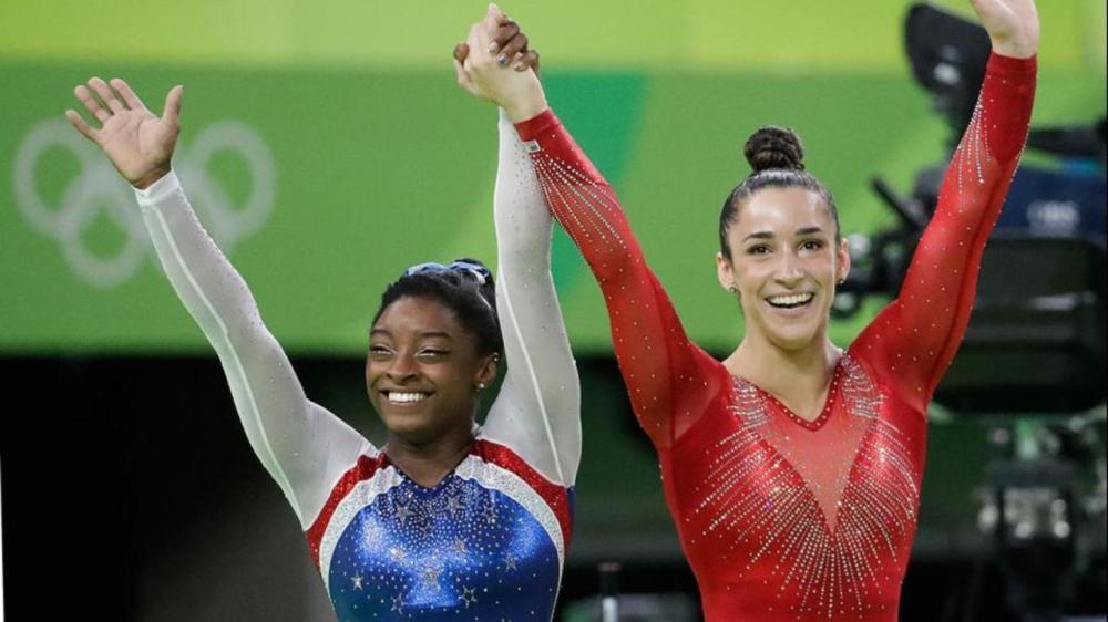 Simone Biles Aly Raisman Rio 2016