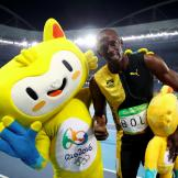 Usain Bolt won the men's 100m gold medal in Rio 2016, becoming the first to win the event three times at consecutive Olympic Games.