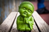 Little Green Buddha