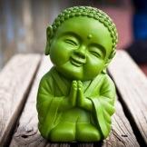 Little Green Buddha