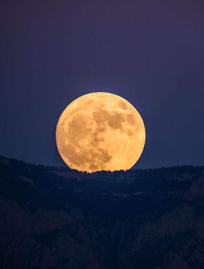 New Mexico Super Moon