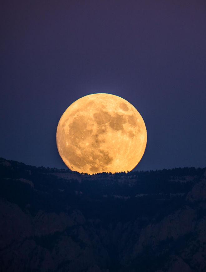 New Mexico Super Moon