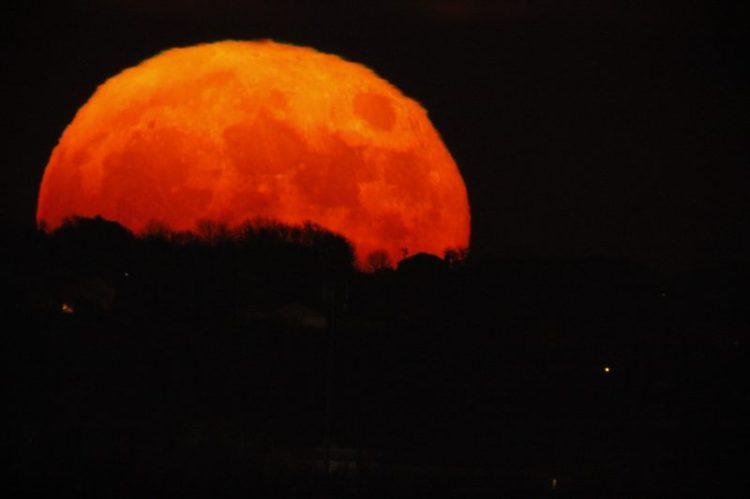 Omaha Super Moon