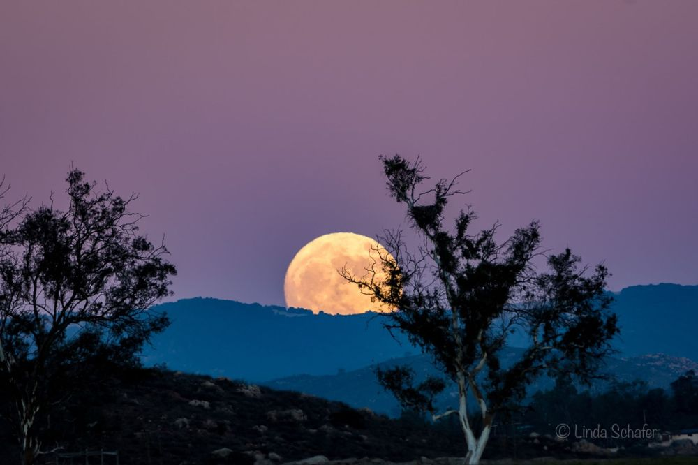 Ramona, CA Super Moon