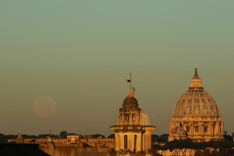 Rome Super Moon