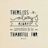 There's power in gratitude!