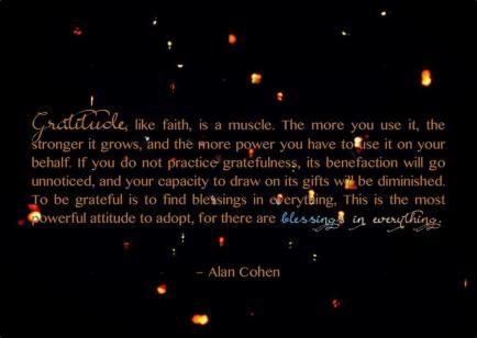 Gratitude attracts abundance.