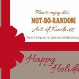 Kindness keeps on giving!