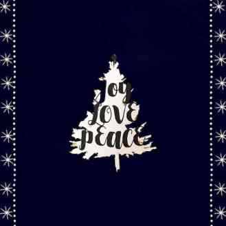 Words are powerful. Speak of joy, love & peace. Always!