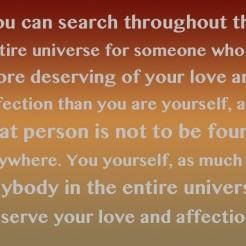 You Deserve It!