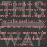 Mistakes help us!