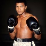 Cassius Marcellus Clay Jr. (January 17, 1942 – June 3, 2016). What can I say. You were a legend, a living example of anything is possible, of believing in yourself, and overcoming obstacles. You rock! Thank you!