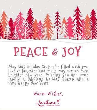 Wishing you peace & joy!
